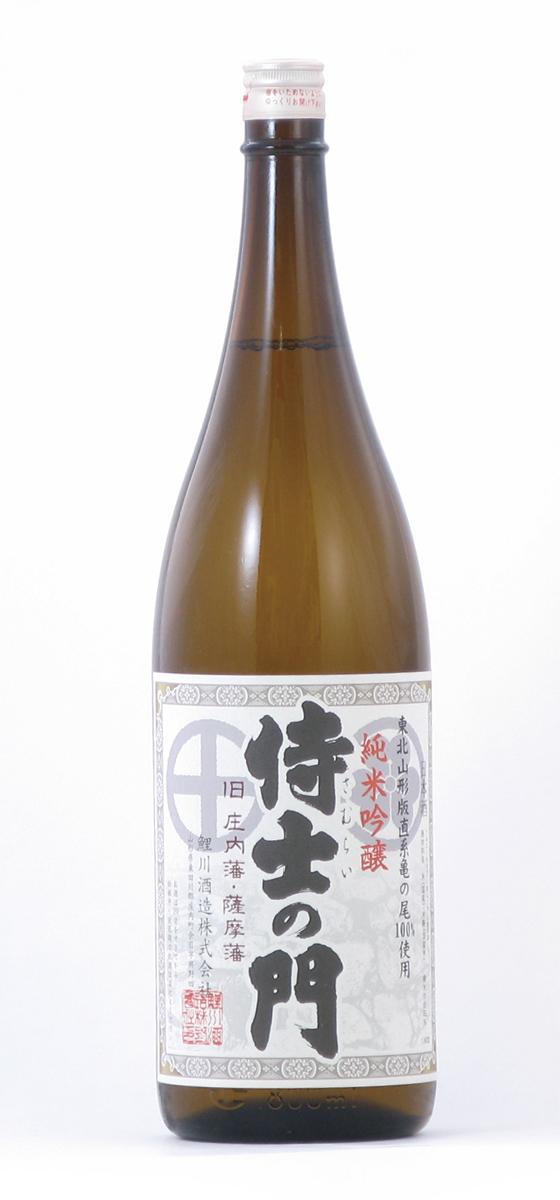 鯉川酒造 侍士の門 純米吟醸 亀の尾