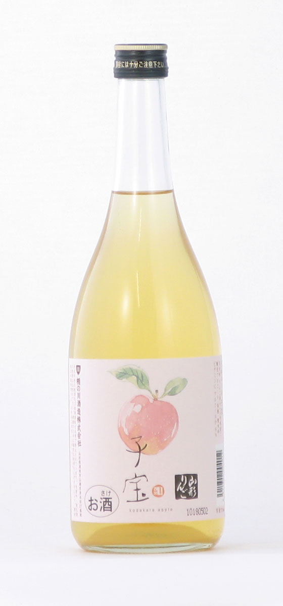 楯の川酒造 子宝 山形りんご